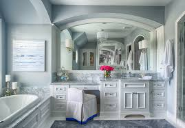 White Cabinet Bathroom Ideas White Master Bathroom With White - White cabinets bathroom design
