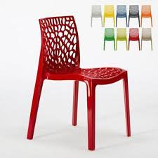 plastic stacking chairs ebay