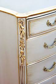 Silver Leaf Bedroom Furniture by Best 25 Silver Dresser Ideas On Pinterest Silver Painted