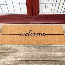 Welcome Doormats Doormat Welcome Door Mats Mats The Home Depot Home Sweet Home