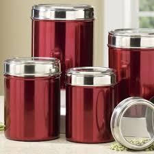 clear plastic kitchen canisters 5 stainless steel canister set kitchen style