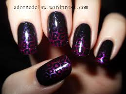 purple and pink glitter leopard nail art the adorned claw