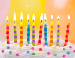 birthday candle birthday candles on colorful background stock photo picture and