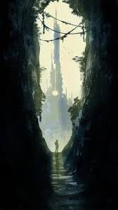 skull waterfall jack the giant slayer yahoo image search results pirate cove by andrew walsh inspiration illustration