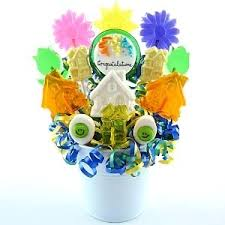 lollipop bouquet welcome to new home candy bouquets congratulations new home
