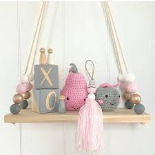 baby on the shelf kids baby room wall shelves diy original wood wall shelf