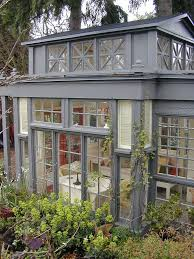 Glass Windows For Houses Mini Conservatory With 43 Recycled Glass Windows And Doors My