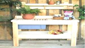 potting table with sink potting bench with sink potting bench sink plans potting outdoor