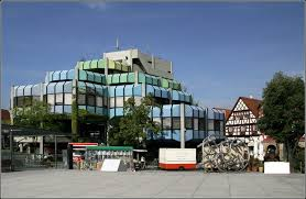 architektur lã beck ein modernes bauwerk der 70er jahre des letzten jahrhunderts