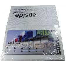 calendrier de bureau photo personnalisez votre calendrier de bureau post it avec votre logo