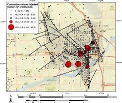 Lbl Map Produced Water Disposal Injection In The Southern San Joaquin