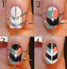 easy diy nail art tutorial fashion fuz