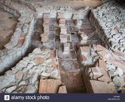Fishbourne Roman Palace Floor Plan by Roman Heating System Stock Photos U0026 Roman Heating System Stock