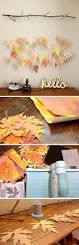 diy fall decor ideas to decorate your home leaf garland fall