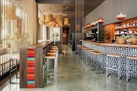 commercial design bar ideas stool seating restaurant interior