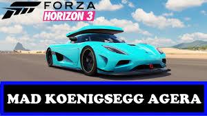 koenigsegg thule forza horizon 3 crazy koenigsegg agera customisations adding a