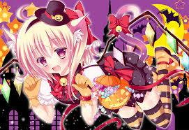 Neko Halloween Costume Happy Halloween Anime Art Halloween Costume Neko
