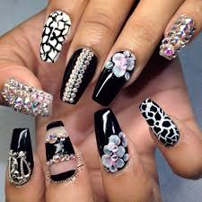 277 best look at my nails images on pinterest coffin nails