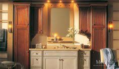 Merillat Bathroom Vanity Merillat Classic Somerton Hill In Maple Toffee Bathroom Ideas