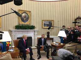 watch obama and trump meet at white house president calls