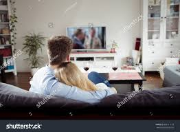 back view young couple enjoying themselves stock photo 388111129