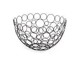 amazon com spectrum diversified shapes circles round fruit bowl