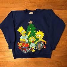 bart sweater vintage simpsons sweater crewneck bart maggie delta