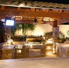 Tropical Outdoor Kitchen Designs Custom Outdoor Kitchen Designs Home Decorating Ideas