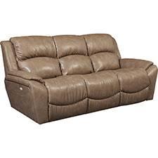 barrett powerrecline la z time full reclining sofa