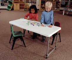 adjustable height kids table custom bi fold tables adjustable desk promotional items
