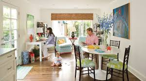 interior decorating ideas tradition with a colorful twist