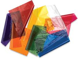 colored cellophane sheets the box depot