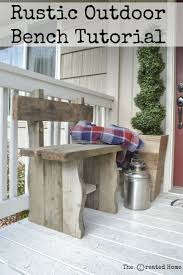 best 25 rustic outdoor benches ideas on pinterest log chairs