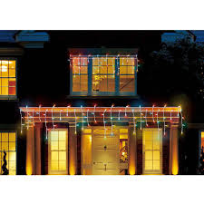 Colored Christmas Lights by Holiday Time Led Micro Icicle Christmas Lights Multi 450 Count