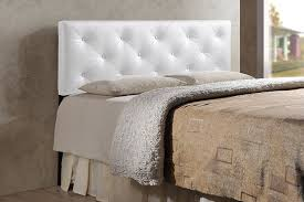 Tufted Leather Headboard Bed White Cushion Headboard Tufted Wingback Headboard Tufted