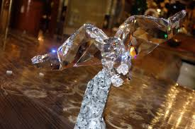 swarovski soulmates eagle 874456 home decor crystal figurine