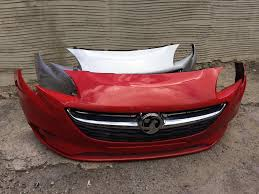 vauxhall corsa 2017 vauxhall corsa e 2015 2016 2017 genuine front bumper for sale in