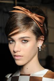 bow headbands daily inspiration bow headbands at louis vuitton stylecaster