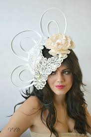 lace fascinator 31 best crocheted crowns and fascinators images on