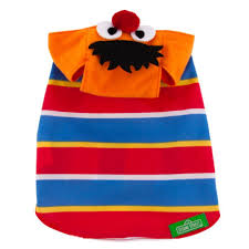 bert halloween costume amazon com sesame street dog costume ernie size xs pet