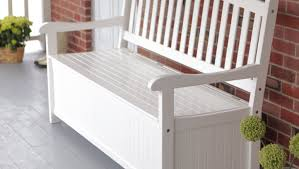 Cushioned Storage Bench Bench Unique Outdoor Wooden Storage Bench With Cushion