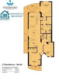 waterford residence floor plan waterford condo floor plans new smyrna beach condos