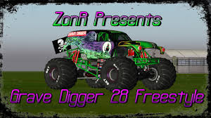 grave digger 30th anniversary monster truck rigs of rods grave digger 28 freestyle at oakland 2015 youtube