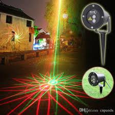 suny new 2016 waterproof garden laser lights 8 in 1 sky