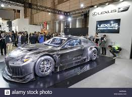 new lexus rcf tokyo japan 13th january 2017 the new lexus rc f gt3 on