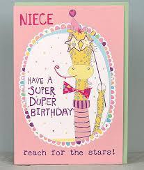 niece birthday cards molly mae niece birthday cards relation child birthday