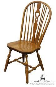 Pine Dining Chair High End Used Furniture S Bent U0026 Bros Solid Oak Bowback Windsor