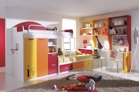 Kids Room Design For Two Kids Kids Room Kids Room With Two Level Bed Stock Photo Image