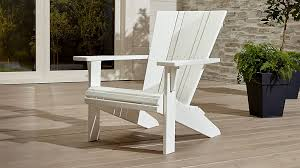 Extra Large Adirondack Chairs Vista Ii Adirondack Chair Crate And Barrel