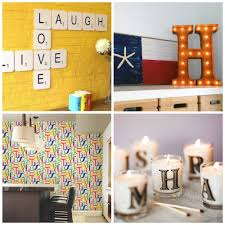 home decor letters as easy as abc 7 ways to use alphabet letters in your home